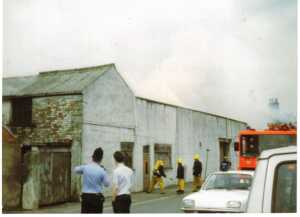 HPC-88GE-025 Fire Mill on Railway Street Fred Entwhistle 1988