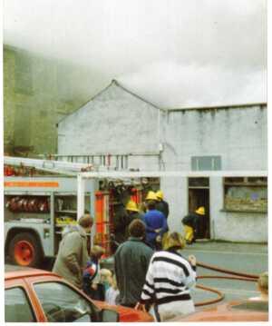 HPC-88GE-025 Fire Mill on Railway Street Fred Entwhistle 2 1988