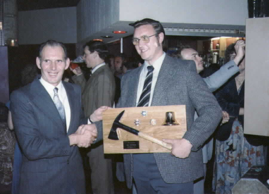 Jim Chapman retirement 1980