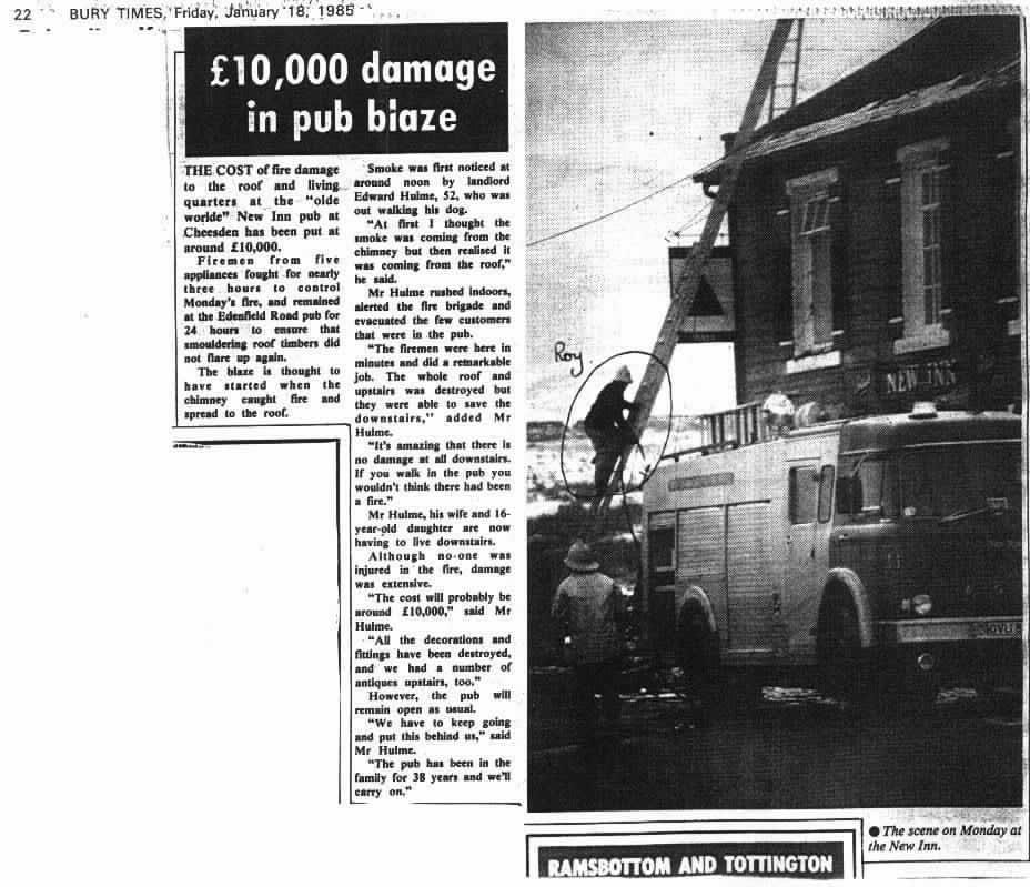 New Inn PH 1985