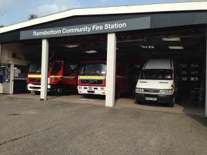 Ramsbottom Station Line Up