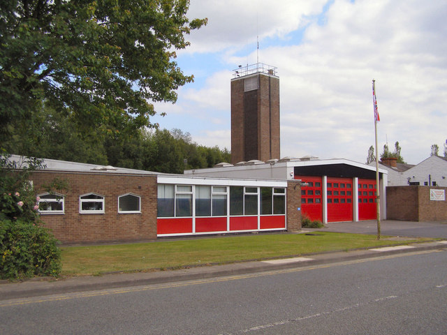 Stubbins Lane Fire Station David Dixon Gepgraph